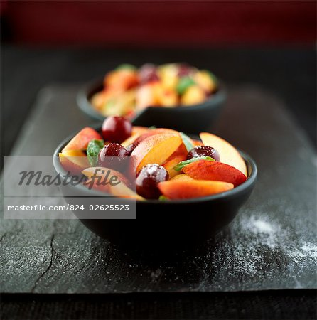 Fresh Fruit Salad Stock Photo - Rights-Managed, Image code: 824-02625523