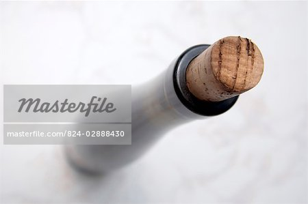 Corked wine bottle Stock Photo - Rights-Managed, Image code: 824-02888430