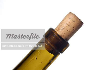 Corked wine bottle Stock Photo - Rights-Managed, Image code: 824-02888431