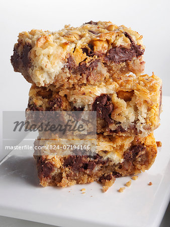 Seven layer bars Stock Photo - Rights-Managed, Image code: 824-07194166