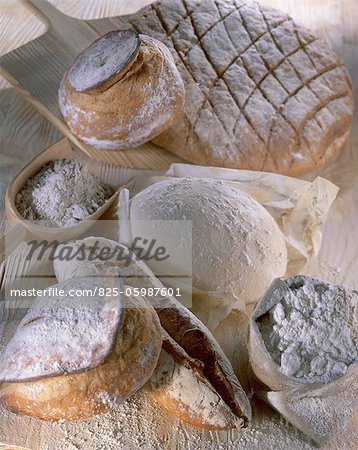 composition of bread Stock Photo - Rights-Managed, Image code: 825-05987601