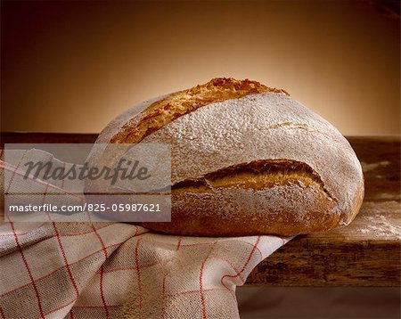 loaf of bread Stock Photo - Rights-Managed, Image code: 825-05987621