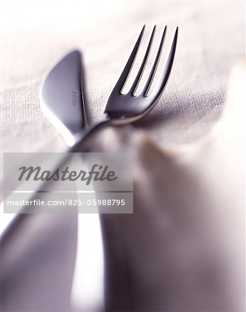 Cutlery Stock Photo - Rights-Managed, Image code: 825-05988795
