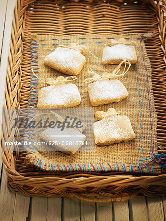 Spelt,ginger and almond cookies Stock Photo - Rights-Managed, Image code: 825-06815781