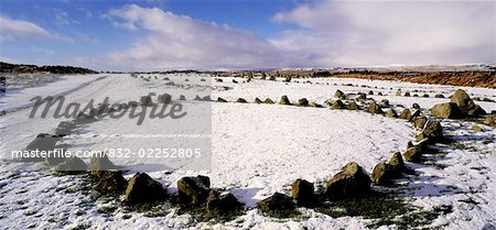 Beaghmore Stone Circles, The Dragons Teeth, Co Tyrone, Ireland Stock Photo - Rights-Managed, Image code: 832-02252805