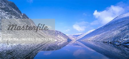 Silent Valley Reservoir, Ben Crom Co Down, Ireland Stock Photo - Rights-Managed, Image code: 832-02253536