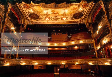 Grand Opera House, Belfast, Ireland;  19th Century opera house Stock Photo - Rights-Managed, Image code: 832-03233576