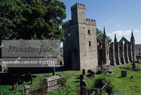 St Selskar's Abbey, Wexford, Co Wexford, Ireland;  12th Century abbey Stock Photo - Premium Rights-Managed, Artist: IIC, Code: 832-03233581