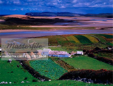 Cottages at Gortahork, Co Donegal, Ireland Stock Photo - Rights-Managed, Image code: 832-03359028