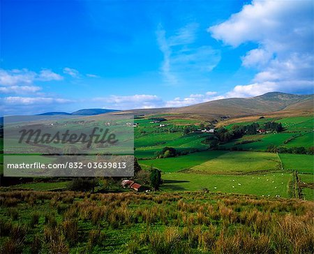 Sperrin Mountains, Co Tyrone, Ireland Stock Photo - Rights-Managed, Image code: 832-03639813