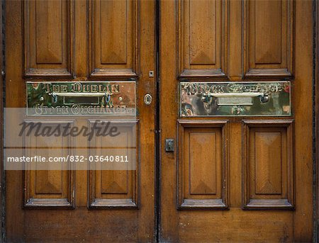 Dublin Stock Exchange Letterbox Stock Photo - Rights-Managed, Image code: 832-03640811