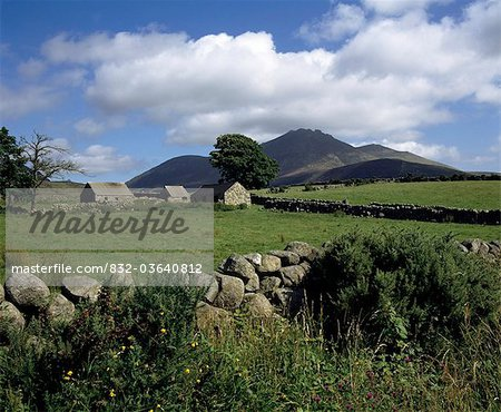Mourne Mountains, County Down, Ireland Stock Photo - Rights-Managed, Image code: 832-03640812
