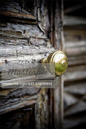 Close-up of a door knob,Torre Pallavicina,Bergamo Province,Lombardy,Italy Stock Photo - Rights-Managed, Image code: 837-03070992