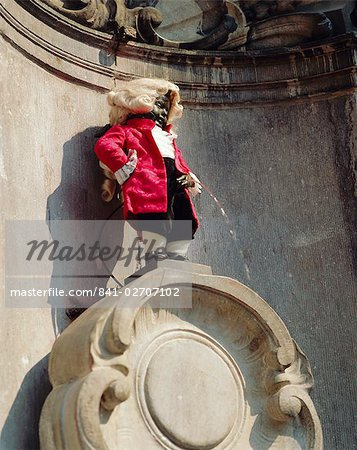 Manneken Pis, Brussels, Belgium Stock Photo - Rights-Managed, Image code: 841-02707102