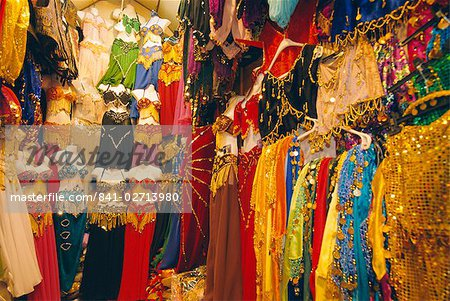 Garment shop, Grand Bazaar, Istanbul, Turkey, Eurasia
