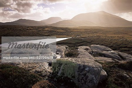 Mealisval Hill, west coast, Isle of Lewis, Outer Hebrides, Scotland, United Kingdom, Europe Stock Photo - Rights-Managed, Image code: 841-02720438