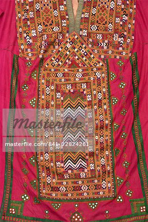 Embroidered kurta from Baluchistan, Pakistan, Asia Stock Photo - Rights-Managed, Image code: 841-02824261