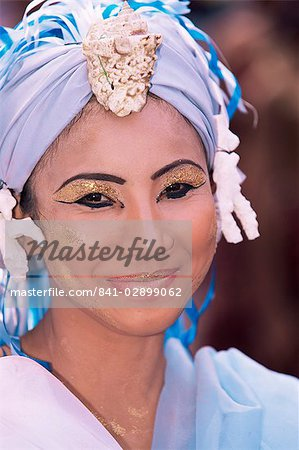 Mardi Gras carnival, Iloilo City, Panay Island, Philippines, Southeast Asia, Asia Stock Photo - Rights-Managed, Image code: 841-02899062