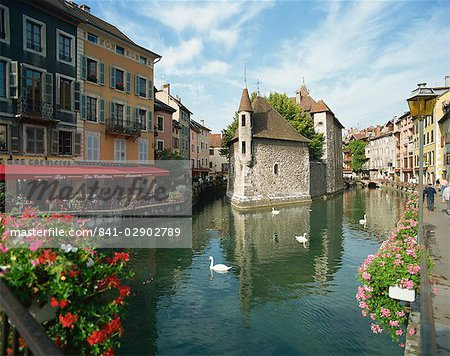 Annecy, Rhone Alpes, France, Europe Stock Photo - Rights-Managed, Image code: 841-02902789