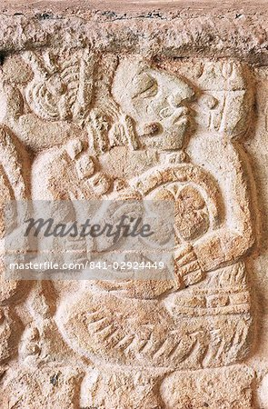 Detail, Structure 9N-82, Copan, UNESCO World Heritage Site, Honduras, Central America Stock Photo - Rights-Managed, Image code: 841-02924449