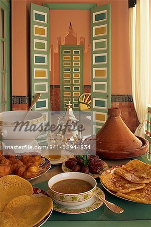 Food, La Mamounia Hotel, Marrakesh, Morocco, North Africa, Africa