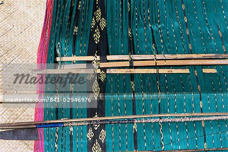 Traditional ikat weaving, Flores, Indonesia, Southeast Asia, Asia Stock Photo - Rights-Managed, Image code: 841-02946976