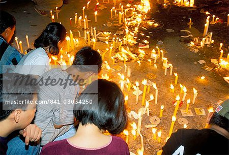 Good Friday procession,Boac,island of Marinduque,Philippines,Southeast Asia,Asia Stock Photo - Rights-Managed, Image code: 841-03034250