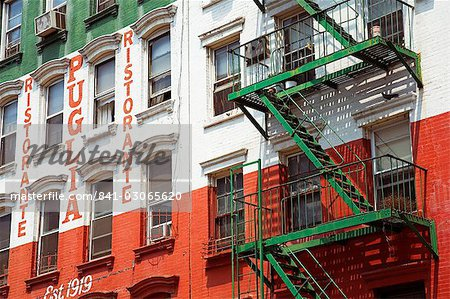 Restaurant in Little Italy in Lower Manhattan, New York City, New York, United States of America, North America Stock Photo - Rights-Managed, Image code: 841-03065620