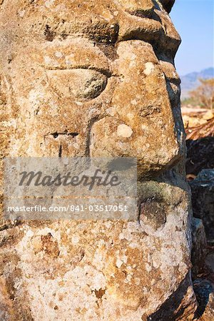 Detail, Copan Ruins, UNESCO World Heritage Site, Honduras, Central America Stock Photo - Rights-Managed, Image code: 841-03517051