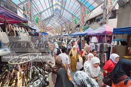 Market in Little India, Kuala Lumpur, Malaysia, Southeast Asia, Asia Stock Photo - Rights-Managed, Image code: 841-03517327