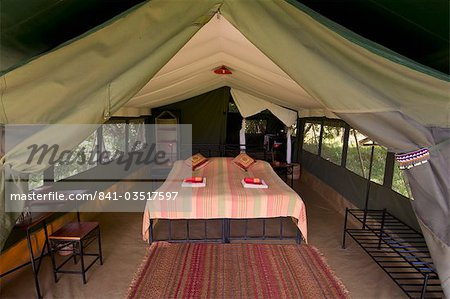 Elephant Pepper Camp, Masai Mara National Reserve, Kenya, East Africa, Africa Stock Photo - Rights-Managed, Image code: 841-03517597