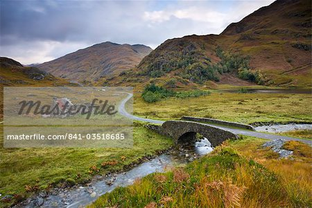 Abandoned cottage near Kinloch Hourn in the Highlands, Scotland, United Kingdom, Europe Stock Photo - Rights-Managed, Image code: 841-03518685