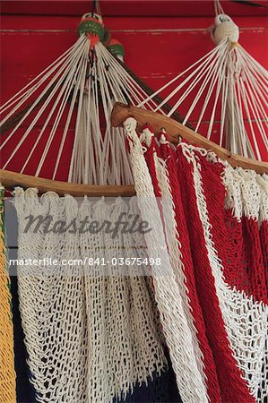 Hammocks, San Juan del Sur, Nicaragua, Central America Stock Photo - Rights-Managed, Image code: 841-03675498