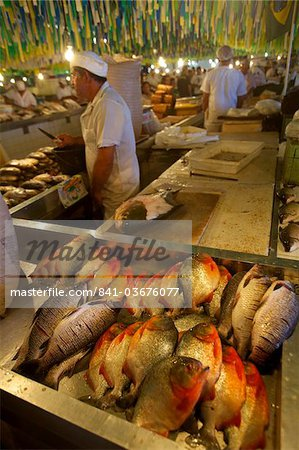 Piranhas at the central market of Manaus, Brazil, South America Stock Photo - Rights-Managed, Image code: 841-03676077