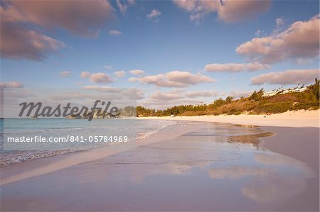 Horseshoe Bay beach, Bermuda, Central America Stock Photo - Rights-Managed, Image code: 841-05784969