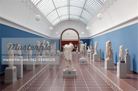 Interior, NY Carlesberg Glyptotek Art Museum, Copenhagen, Denmark, Scandinavia, Europe Stock Photo - Rights-Managed, Image code: 841-05848125