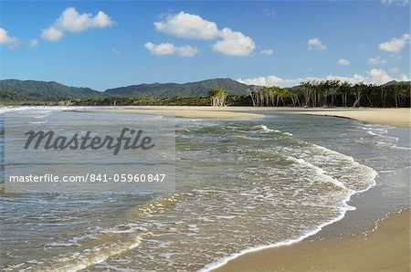 Noah Beach, Daintree National Park, UNESCO World Heritage Site, Queensland, Australia, Pacific Stock Photo - Rights-Managed, Image code: 841-05960847