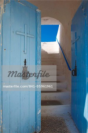 Church entrance, Chania, Crete, Greek Islands, Greece, Europe Stock Photo - Rights-Managed, Image code: 841-05961961