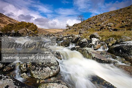 Rocky stream at Tavy Cleave, Dartmoor, Devon, England, United Kingdom, Europe Stock Photo - Rights-Managed, Image code: 841-05962537