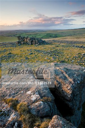 Great Staple Tor, Dartmoor, Devon, England, United Kingdom, Europe Stock Photo - Rights-Managed, Image code: 841-05962539