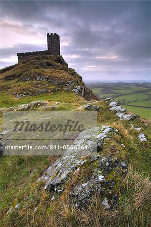 Brentor Church, Dartmoor, Devon, England, United Kingdom, Europe Stock Photo - Rights-Managed, Image code: 841-05962644