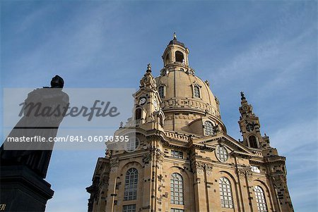 Frauenkirche, Dresden, Saxony, Germany, Europe Stock Photo - Rights-Managed, Image code: 841-06030395