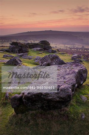 Saddle Tor, Dartmoor National Park, Devon, England, United Kingdom, Europe Stock Photo - Rights-Managed, Image code: 841-06030601