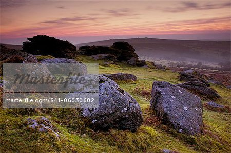 Saddle Tor, Dartmoor National Park, Devon, England, United Kingdom, Europe Stock Photo - Rights-Managed, Image code: 841-06030602