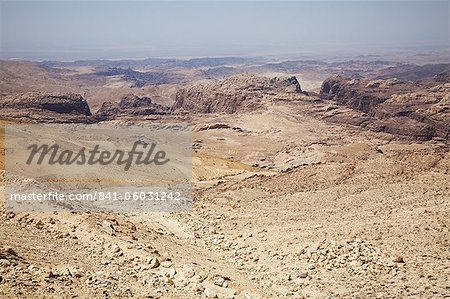The rugged landscape at Petra, Jordan, Middle East Stock Photo - Rights-Managed, Image code: 841-06031242