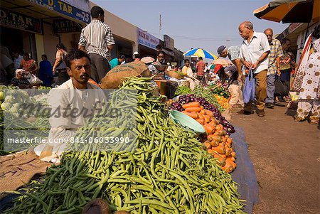 Mapusa Market, Goa, India, Asia Stock Photo - Rights-Managed, Image code: 841-06033990