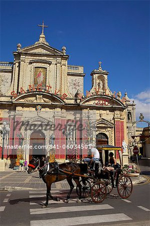 St. Paul's Church and Grotto, Rabat, Malta, Europe Stock Photo - Rights-Managed, Image code: 841-06034501