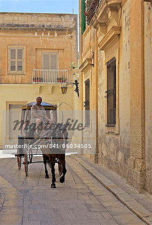 Mdina, the fortress city, Malta, Europe Stock Photo - Rights-Managed, Image code: 841-06034505