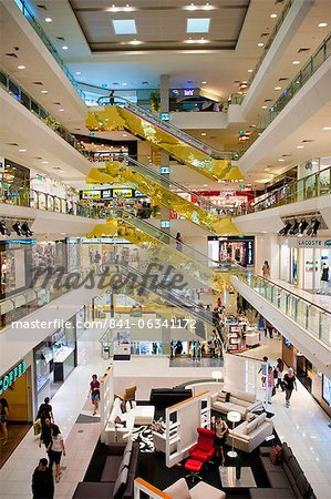 Shopping centre, Orchard Road, Singapore, Southeast Asia, Asia Stock Photo - Rights-Managed, Image code: 841-06341172
