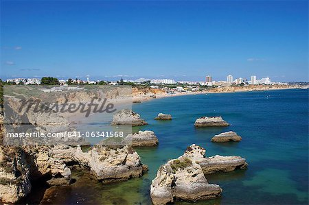 Praia do Vau, Portimao, Algarve, Portugal, Europe Stock Photo - Rights-Managed, Image code: 841-06341568